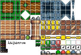 More Mario work. Tiles10
