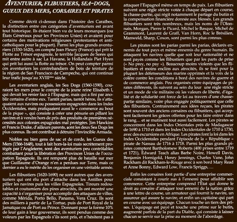 informations générales sur l'univers Aventu10