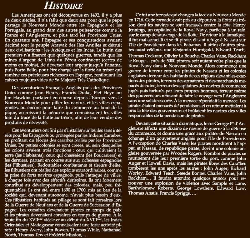 informations générales sur l'univers Histoi10