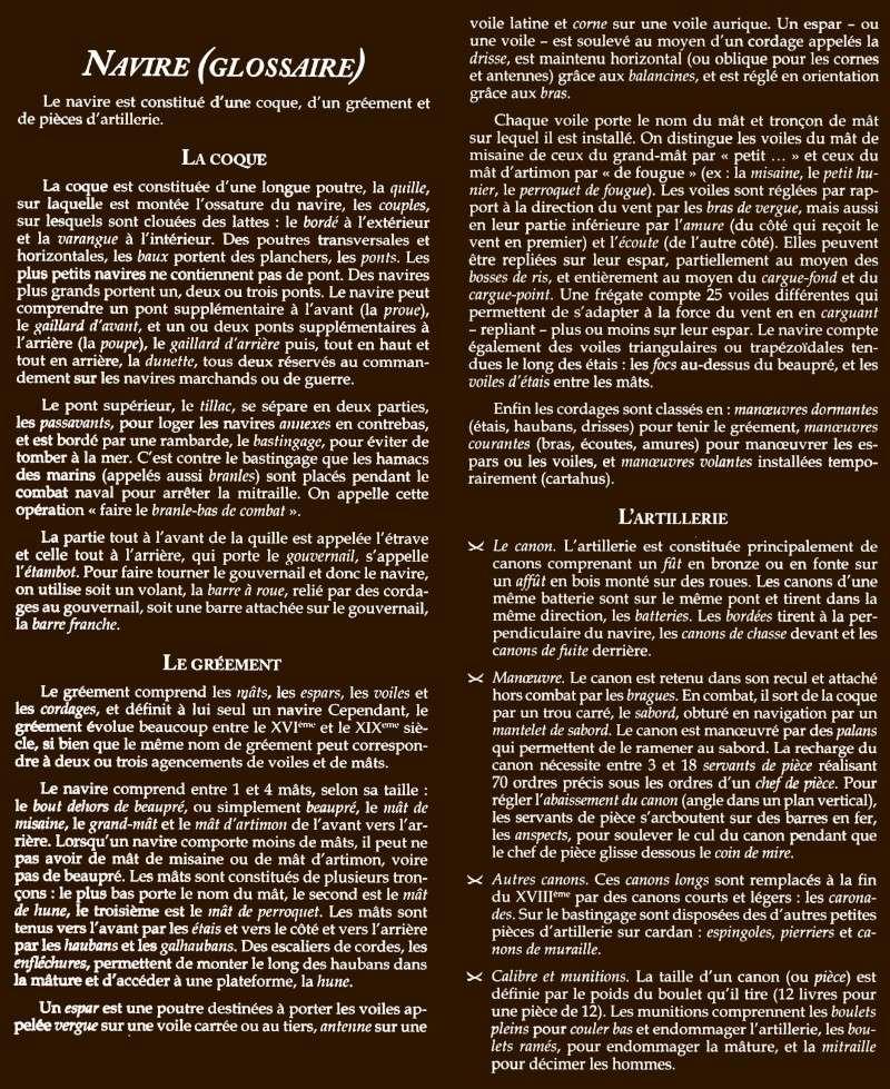 informations générales sur l'univers Navire10