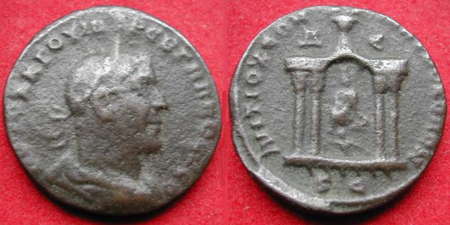 grand bronze de Trébonien Galle pour Antioche (Syrie) 159710