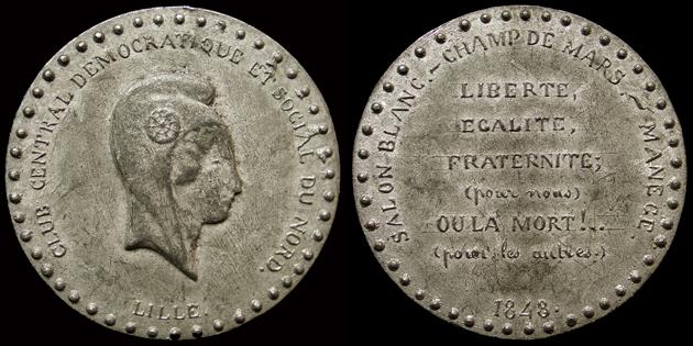 Médailles de la Révolution 1848 (pour Lille) 160010