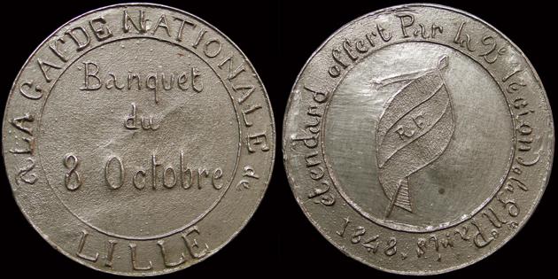 Médailles de la Révolution 1848 (pour Lille) 160310