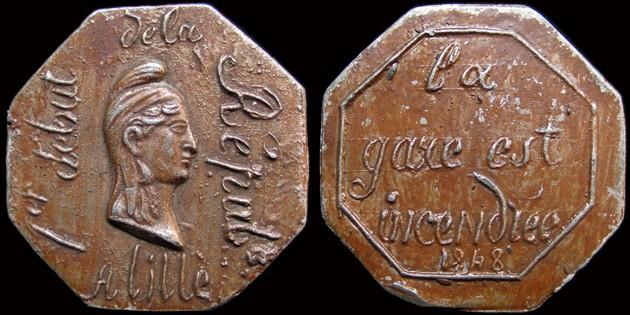 Médailles de la Révolution 1848 (pour Lille) 160410