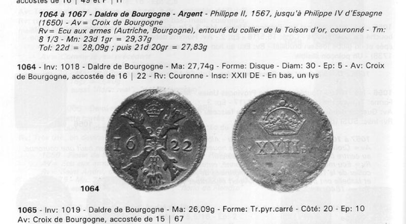 patagon de Philippe IV pour les Pays-Bas Espagnols Poids11