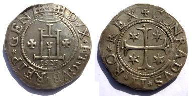 monnaie conradvs II Scudo_10