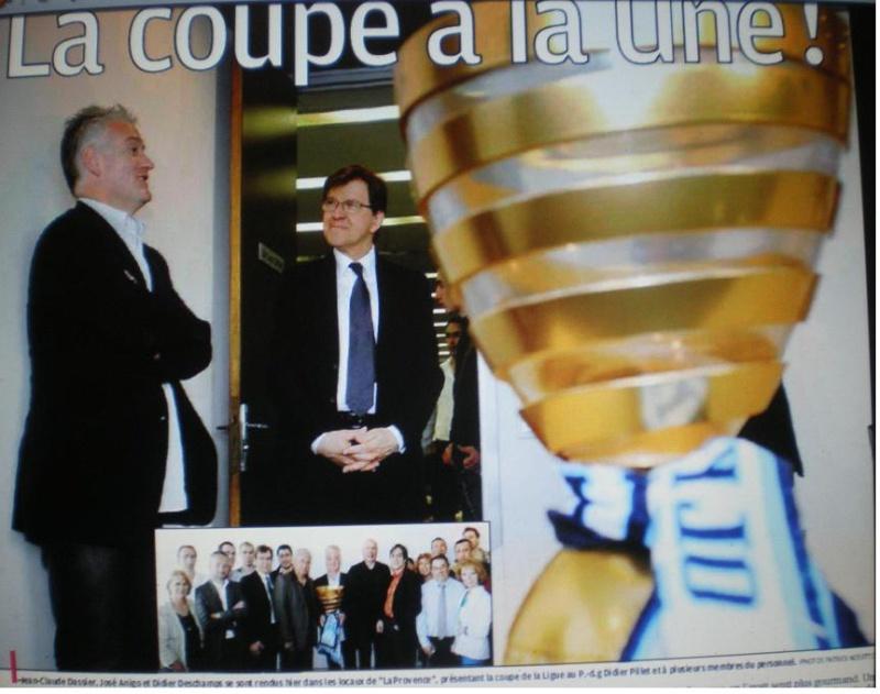 """LA CAVERNE DES TROPHEES DE L""""OM Imgp1179"""