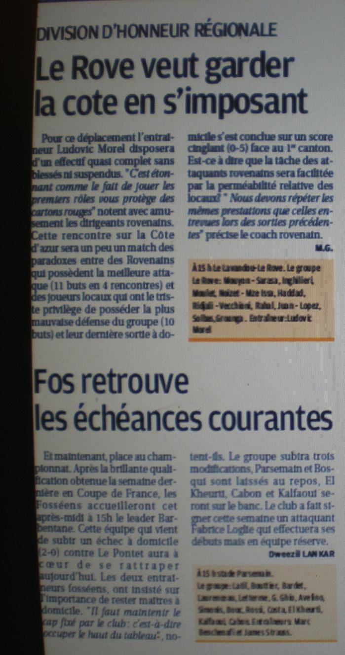 OLYMPIQUE ROVENAIS// DHR Imgp2316
