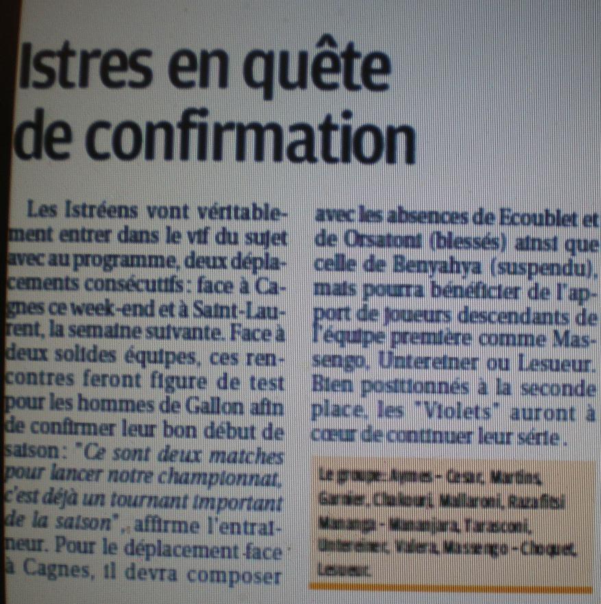 AS CAGNES -LE CROS //DH   MEDITERRANEE  Imgp2318