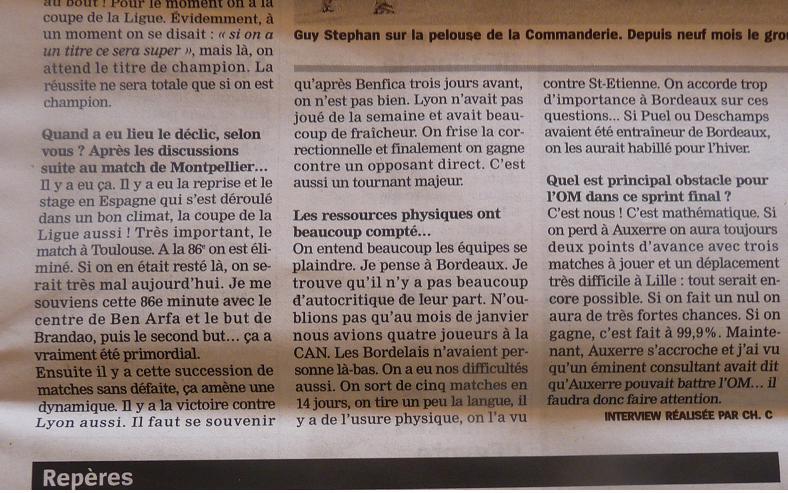 LE STAFF TECHNIQUE OLYMPIEN  P1080317