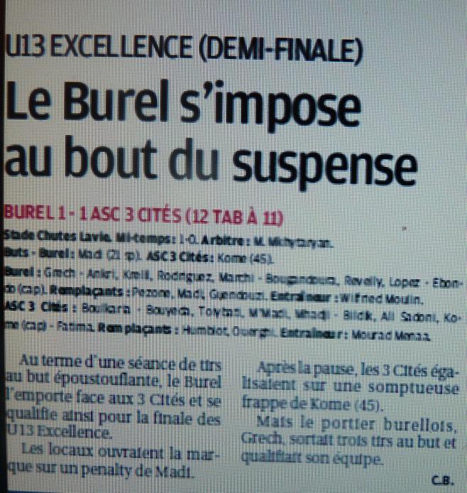 F .C .LE BUREL P1090134