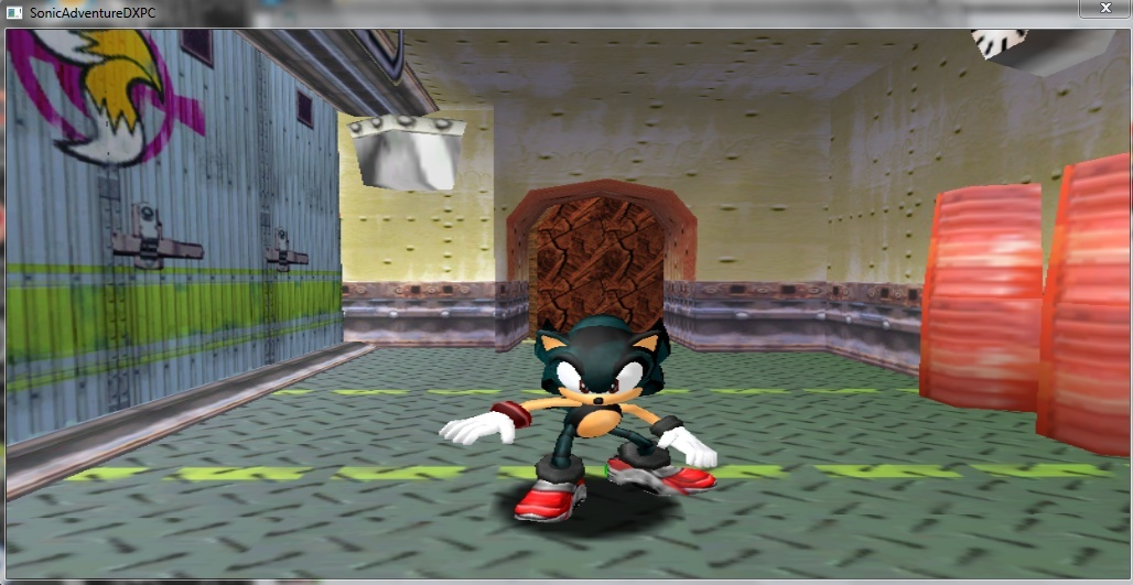 Sonic Adventure DX MOD(MY NEW FAN CHARACTER) Captur10