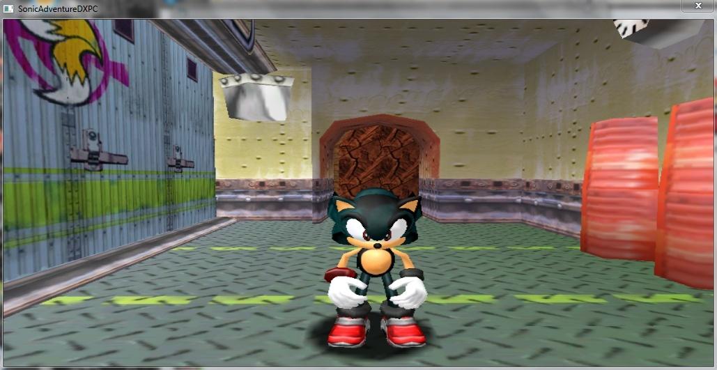 Sonic Adventure DX MOD(MY NEW FAN CHARACTER) Captur11