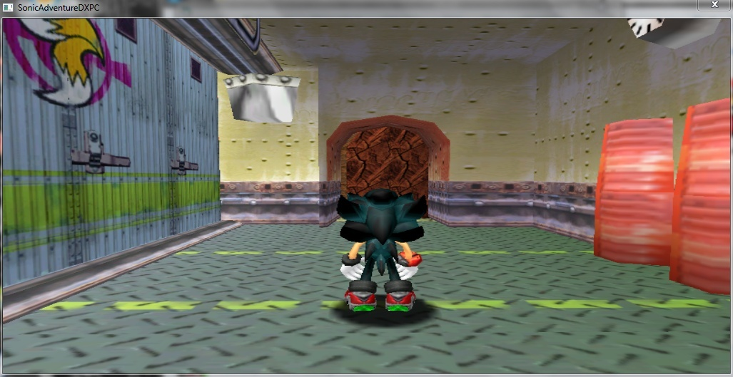 Sonic Adventure DX MOD(MY NEW FAN CHARACTER) Captur12