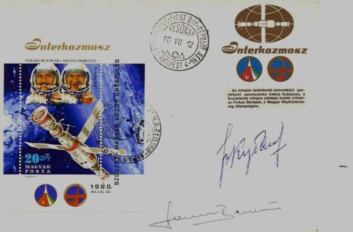 Bertalan Farkas - Premier astronaute hongrois Syz_3612