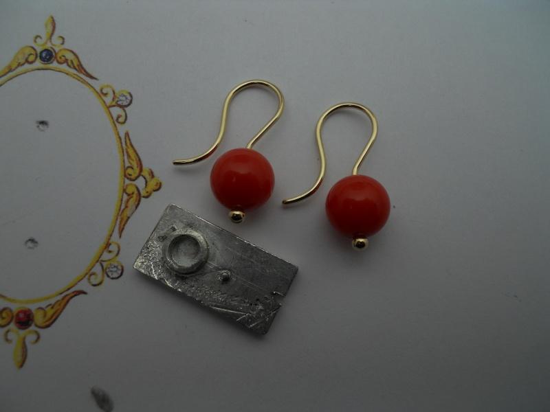 Des boucles d'oreille '' Crochet ''  super simple 01710