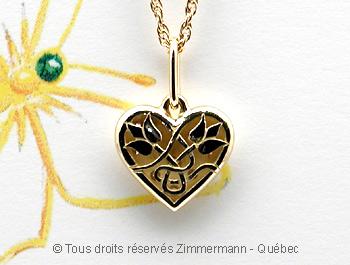 Pendentif coeur Coeurd10