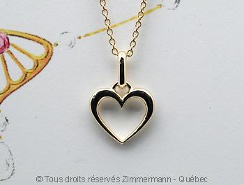 Pendentif coeur Peo69210