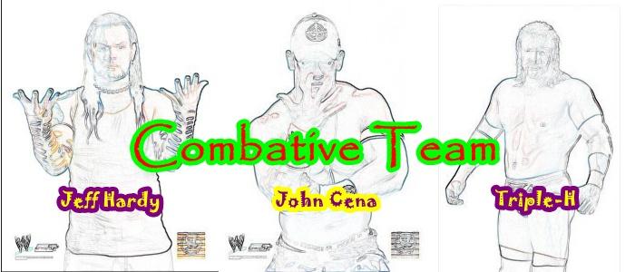 Combative Team   (Handicap Team ) Combat11