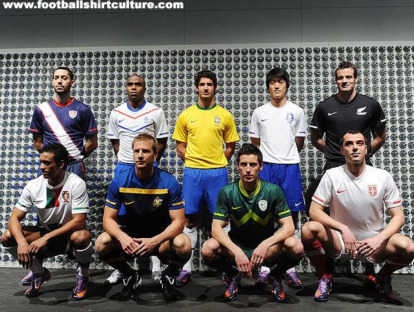 Aussie World Cup Jersey Nike-w10