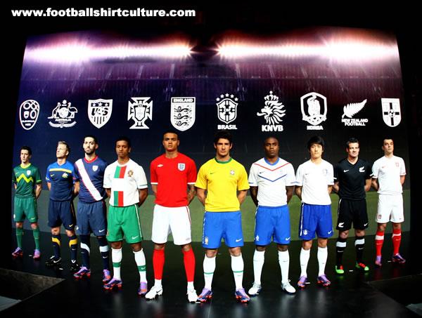 Aussie World Cup Jersey Nike-w11