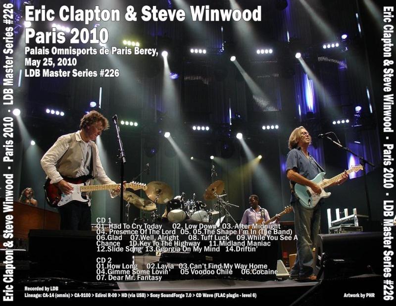 CLAPTON WINWOOD POPB 25/05/2010 Back2010