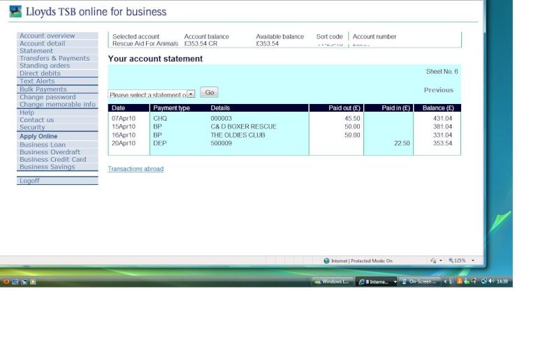 RAFA Bank Account Rafa_b12