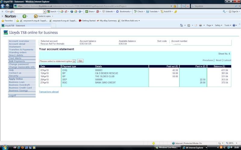 RAFA Bank Account Rafa_b14