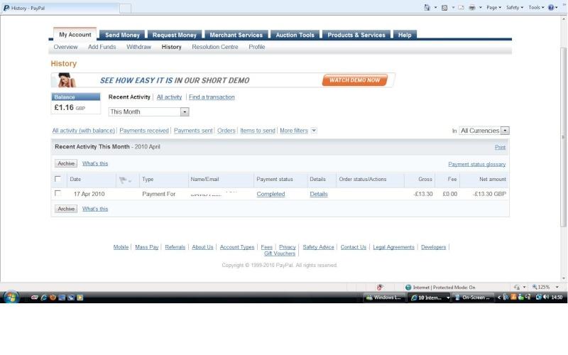 RAFA Paypal Account Rafa_p12