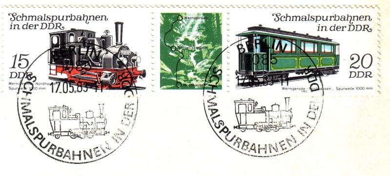 Das Eisenbahnthema im Stempel Schmal10