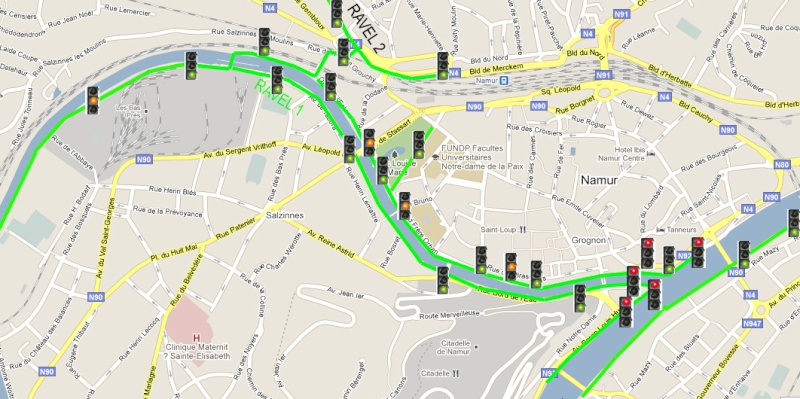 RAVeL 1 Centre (Part 5b) Tamines - Namur - Eurovelo 3 - Itinéraire n°6 - Page 2 Carte110