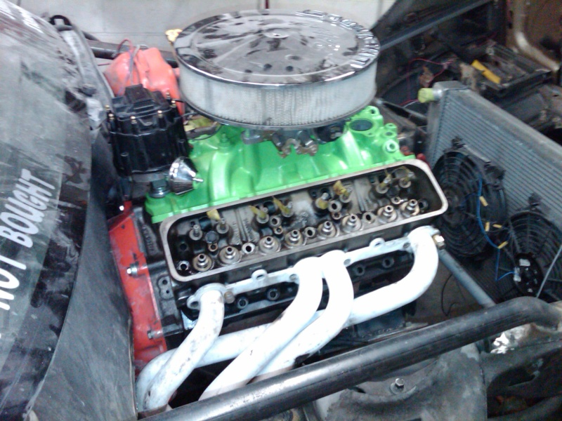 Ummm... 4 banger or V8? 910