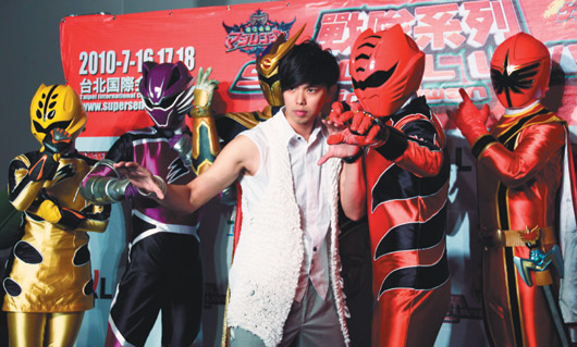 Alien Huang and Butterfly Jie Jie soon to act in Power Rangers 56356910