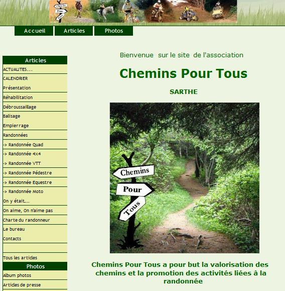 Association sarthoise de quad Chemin10