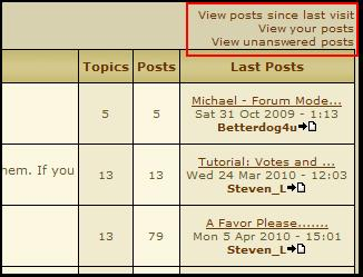 Tutorial: Where are the new posts/threads? Option10