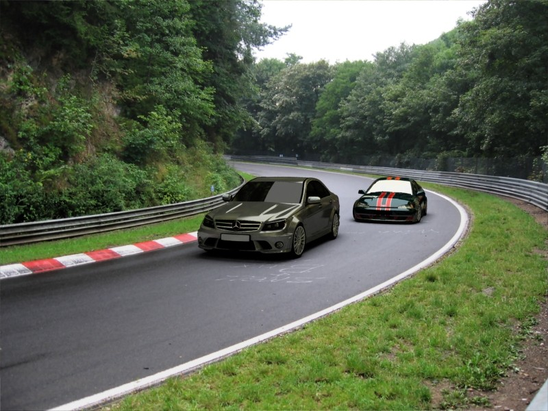 FXO Crazy Drivers+ c63amg nurburgring^^ Class_10