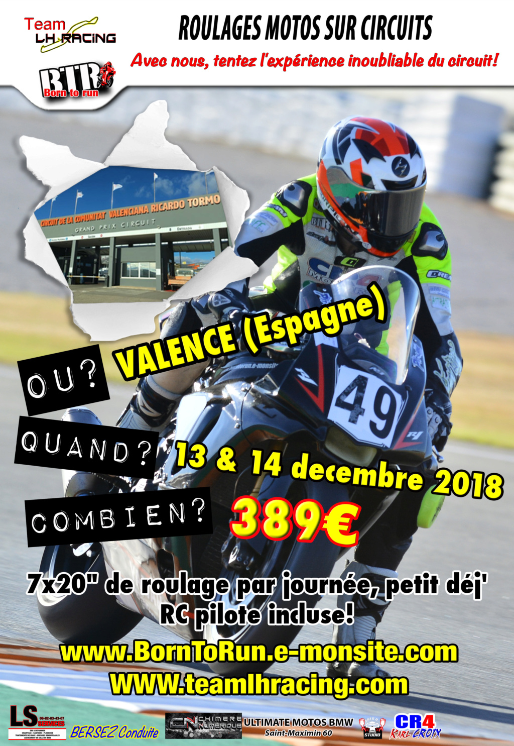 Valence les 13 & 14 décembre 2018 Affich11