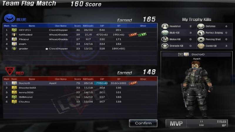 (-)Team Flag Match Screen11