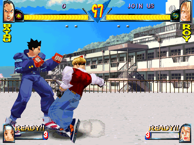 Rival Schools : United by Fate sur PSone  11812412