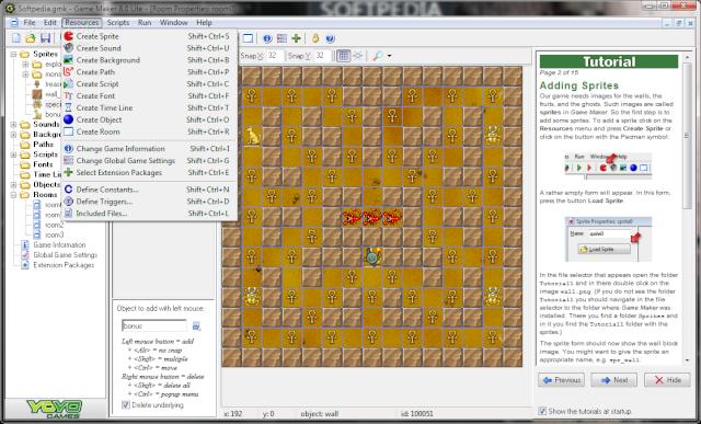 GAME MAKER 8 LITE Game-m10