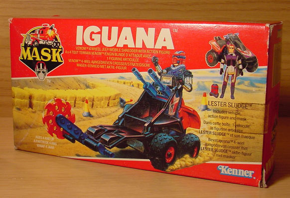 M.A.S.K. = Mobile Armored Strike Kommand (Illusion Vehicles) Iguana10