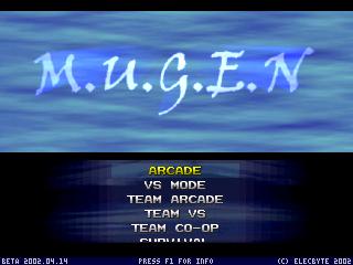 MUGEN 2D FIGHTING GAME ENGINE Mugen010