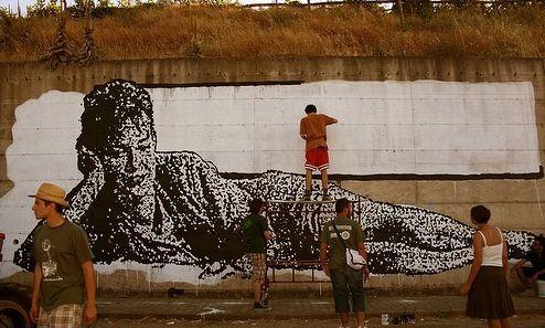 Italian Grafitti Sten-l14