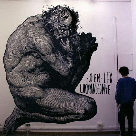 Italian Grafitti Sten-l15