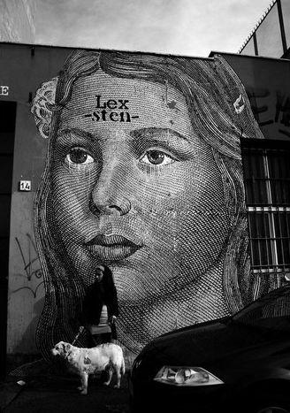 Italian Grafitti Sten-l19