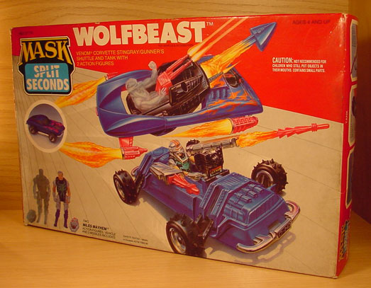M.A.S.K. = Mobile Armored Strike Kommand (Illusion Vehicles) Wolfbe10