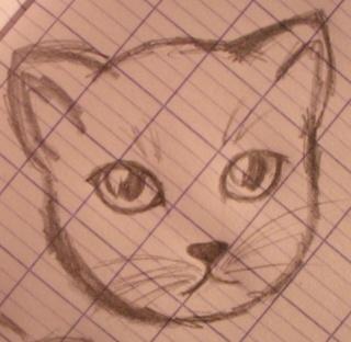 oO-Les petits dessins de Poupou-Oo Chat0112