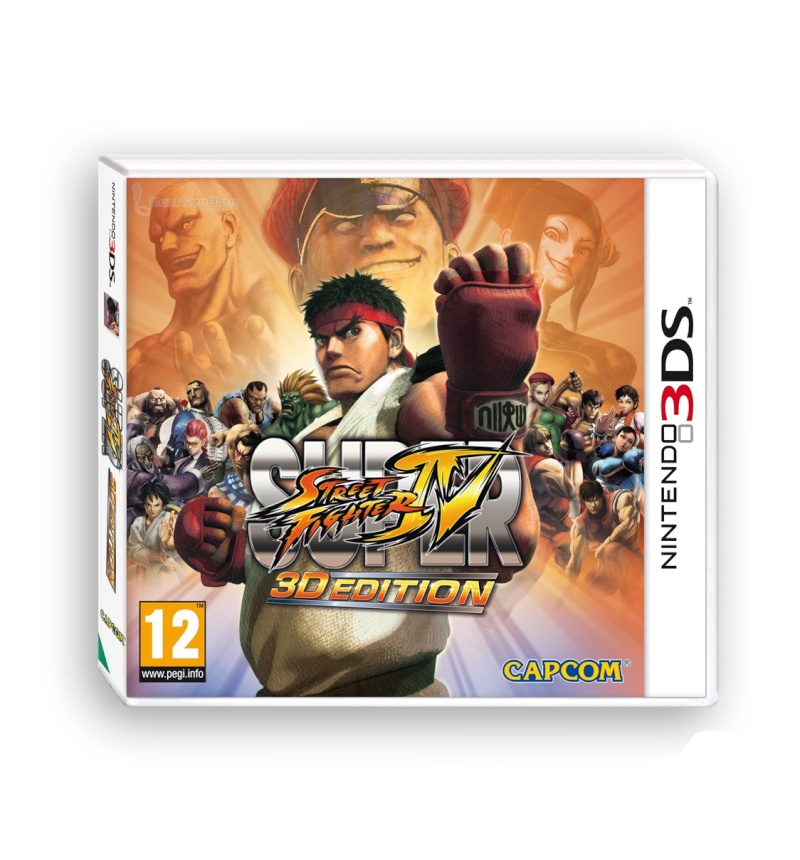 Jaquette européenne de Super Street Fighter IV 3D Edition 12990910