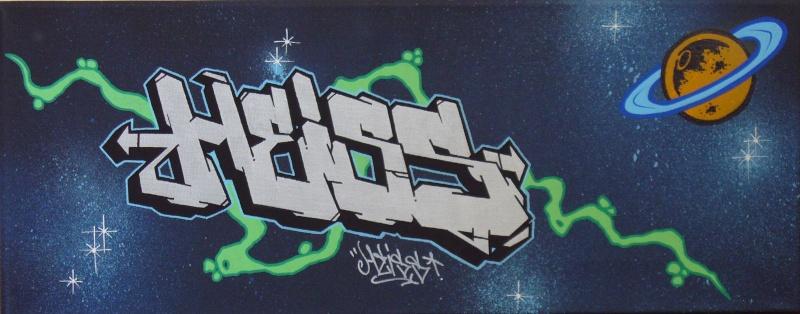 """toile """"HEISS"""" Heiss10"""