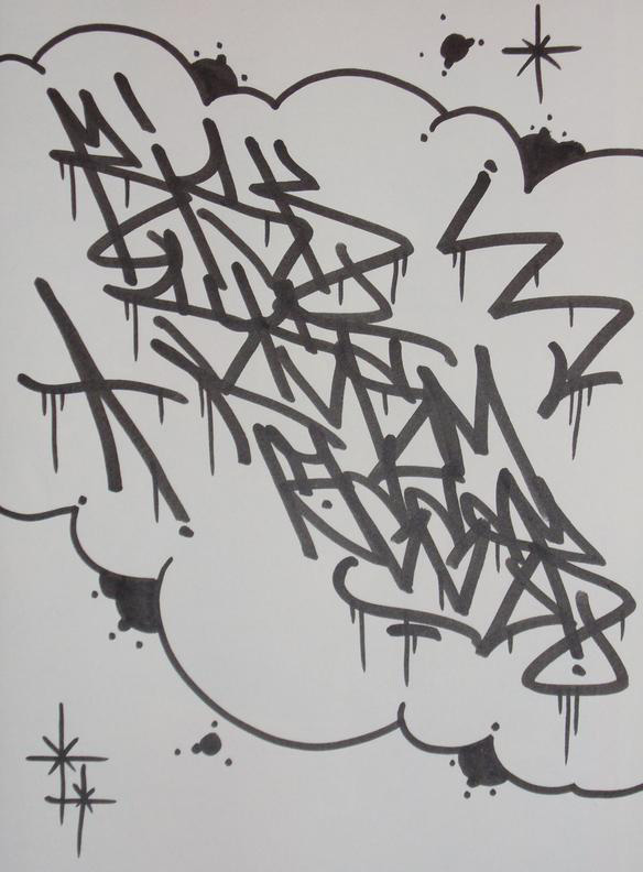 """REAZ """"tag and trow-up addict"""" Rst8810"""